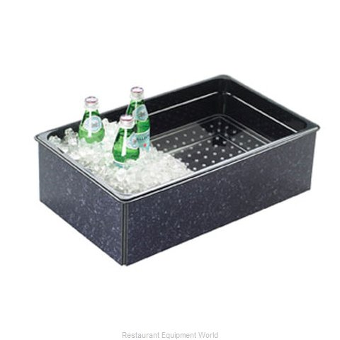 Cal-Mil Plastics 368-12-17 Ice Display Beverage Pan Housing