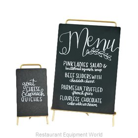 Cal-Mil Plastics 3717-811-46 Tabletop Sign Board