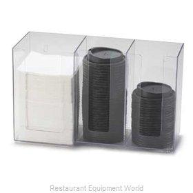 Cal-Mil Plastics 375-12 Condiment Caddy, Countertop Organizer