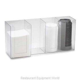 Cal-Mil Plastics 376-12 Condiment Caddy, Countertop Organizer