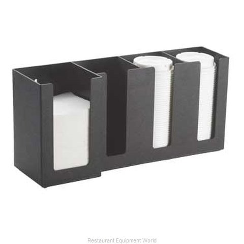 Cal-Mil Plastics 376-13 Condiment Caddy, Countertop Organizer (Magnified)