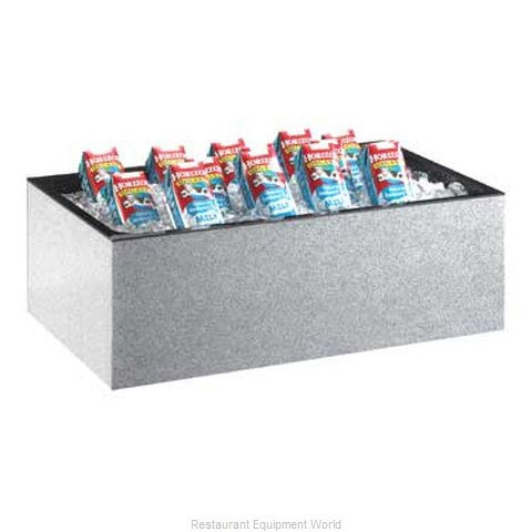 Cal-Mil Plastics 473-12-24 Ice Display, Beverage (Magnified)