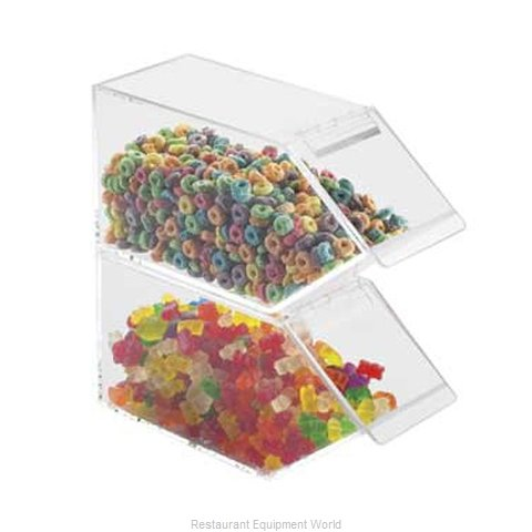 Cal-Mil Plastics 492 Dispenser, Candy (Magnified)
