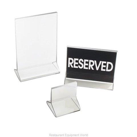 Cal-Mil Plastics 526 Menu Card Holder / Number Stand