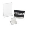 Cal-Mil Plastics 526 Menu Card Holder / Number Stand
