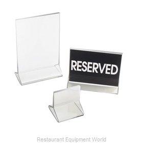 Cal-Mil Plastics 538 Menu Card Holder / Number Stand