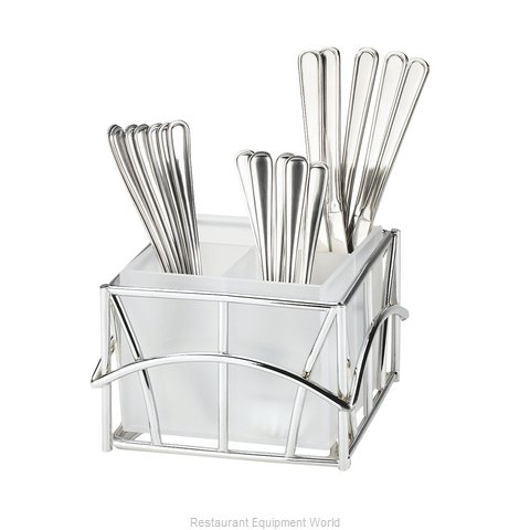 Cal-Mil Plastics 587-49 Flatware Silverware Holder Dispenser