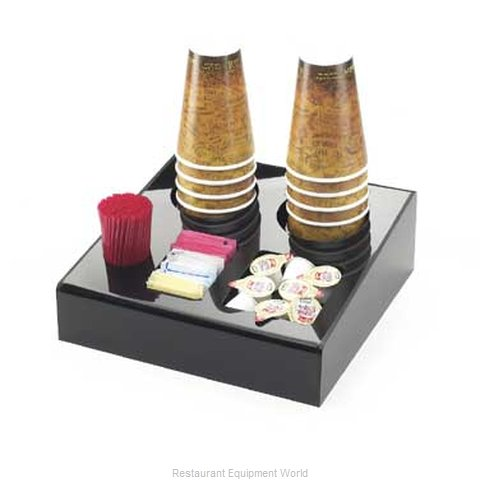 Cal-Mil Plastics 675 Condiment Caddy Countertop Organizer (Magnified)