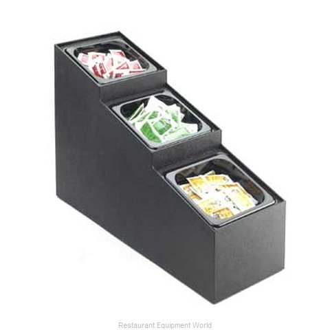 Cal-Mil Plastics 709-3 Condiment Caddy Countertop Organizer (Magnified)
