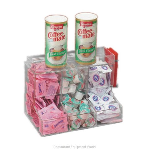 Cal-Mil Plastics 786 Condiment Caddy Countertop Organizer (Magnified)