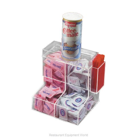 Cal-Mil Plastics 788 Condiment Caddy Countertop Organizer (Magnified)