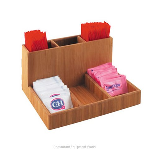 Cal-Mil Plastics 796-60 Condiment Caddy Countertop Organizer (Magnified)