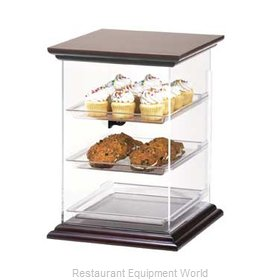Cal-Mil Plastics 814-1-52 Display Case Pastry Countertop Clear