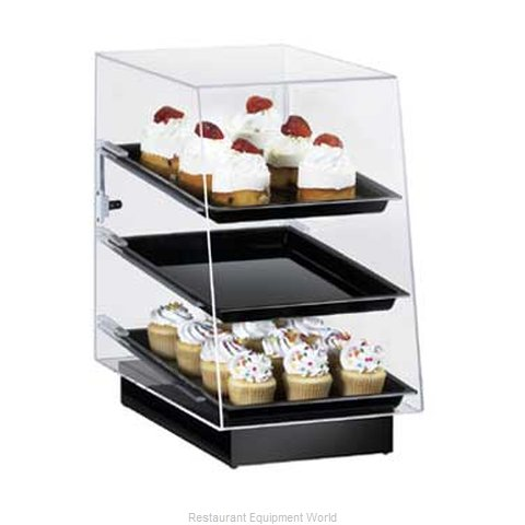 Cal-Mil Plastics 816 Display Case Pastry Countertop Clear