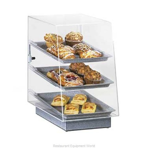 Cal-Mil Plastics 817 Display Case Pastry Countertop Clear