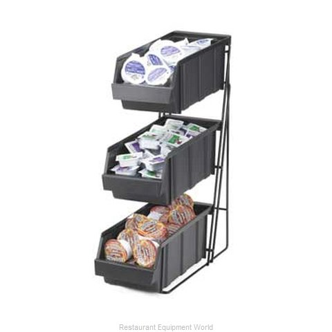 Cal-Mil Plastics 841 Condiment Organizer Bin Rack