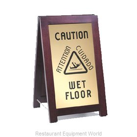 Cal-Mil Plastics 851-WET Sign Floor Housekeeping