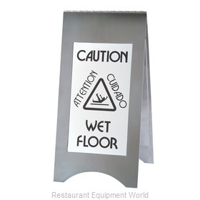 Cal-Mil Plastics 852-55 Sign, Wet Floor