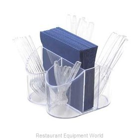 Cal-Mil Plastics 910 Flatware Holder