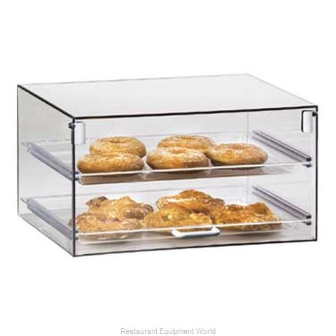 Cal-Mil Plastics 921 Display Case Pastry Countertop Clear
