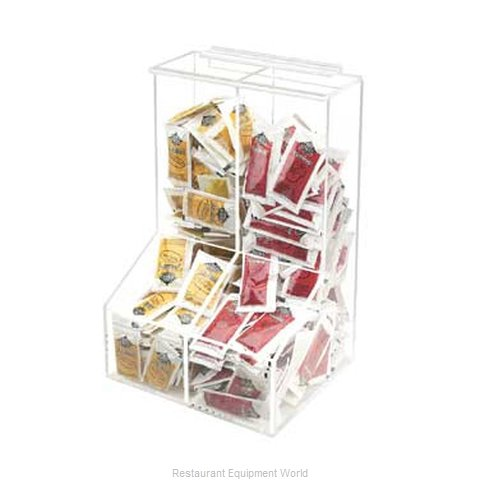 Cal-Mil Plastics 925 Dispenser, Packet (Magnified)