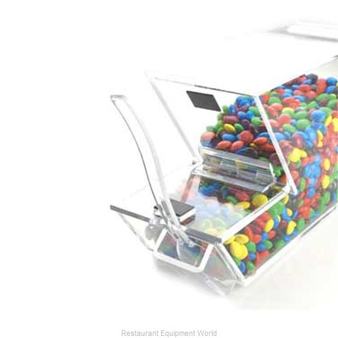 Cal-Mil Plastics 927-H Dispenser, Candy (Magnified)