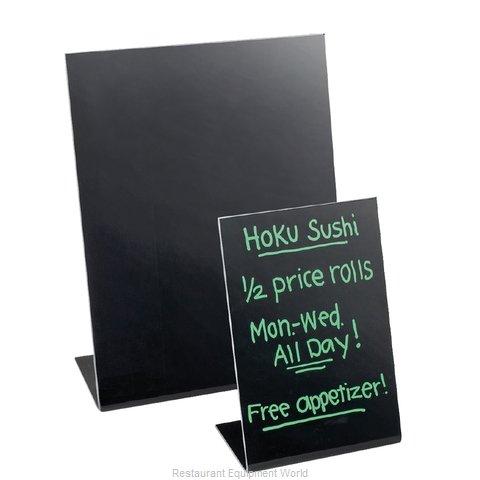 Cal-Mil Plastics 950-13 Tabletop Sign Board