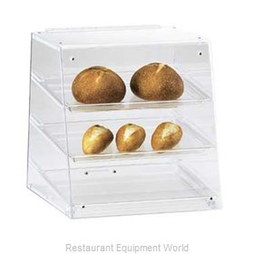 Cal-Mil Plastics 961 Display Case Pastry Countertop Clear