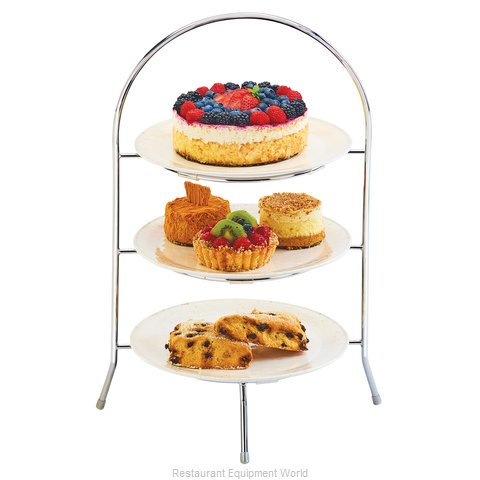 Cal-Mil Plastics 977-10-49 Tiered Display Server Stand (Magnified)