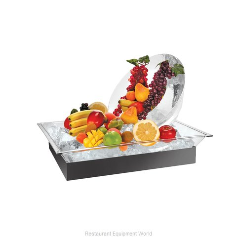 Cal-Mil Plastics 986-12 Ice Display Tray Decorative (Magnified)