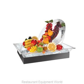 Cal-Mil Plastics 986-12 Ice Display Tray, Decorative