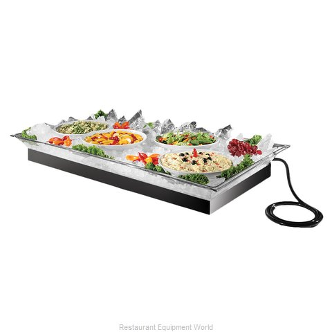 Cal-Mil Plastics 987-12 Ice Display Tray, Decorative