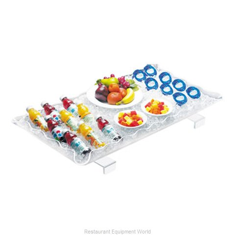 Cal-Mil Plastics 989-12 Ice Display Tray Decorative