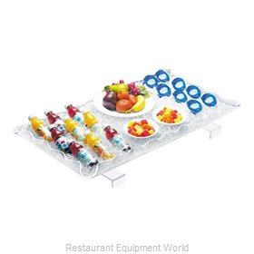 Cal-Mil Plastics 989-12 Ice Display Tray, Decorative