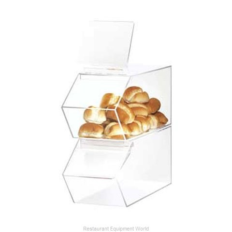 Cal-Mil Plastics 992 Display Case, Pastry, Countertop (Clear)