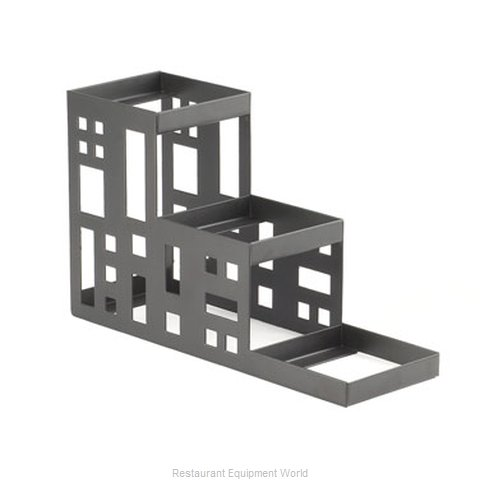 Cal-Mil Plastics C1604-13 Condiment Caddy Tabletop Rack (Magnified)