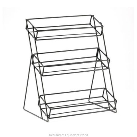Cal-Mil Plastics C1812-13 Condiment Caddy Tabletop Rack (Magnified)