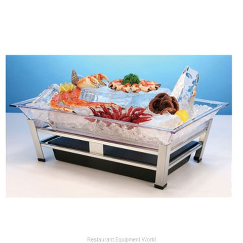 Cal-Mil Plastics IP1020-P Ice Display Tray Decorative