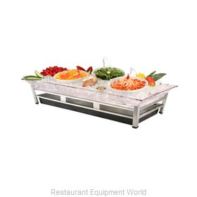 Cal-Mil Plastics IP2020-13 Ice Display Tray, Decorative