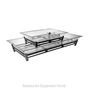 Cal-Mil Plastics IP402-39 Ice Display Tray, Decorative
