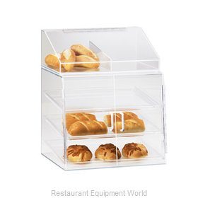 Cal-Mil Plastics P241SS Display Case Pastry Countertop Clear