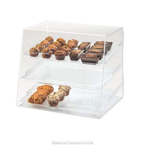 Cal-Mil Plastics P254 Display Case Pastry Countertop Clear