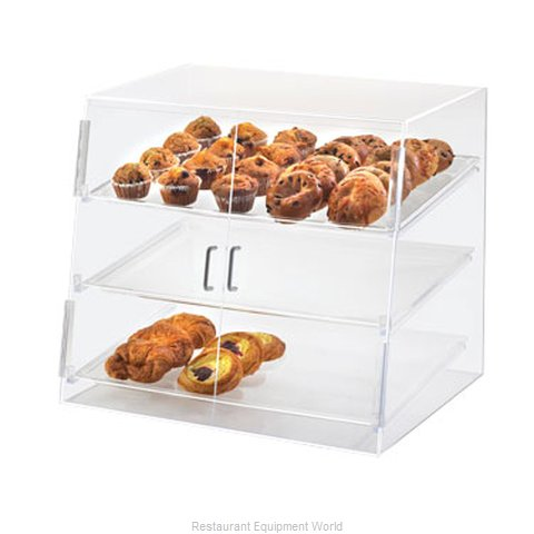 Cal-Mil Plastics P254SS Display Case Pastry Countertop Clear