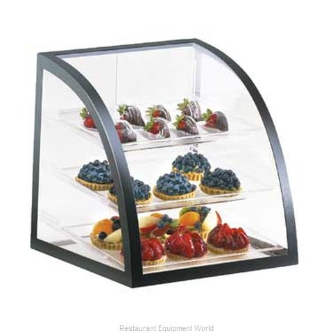 Cal-Mil Plastics P255-13 Display Case Pastry Countertop Clear