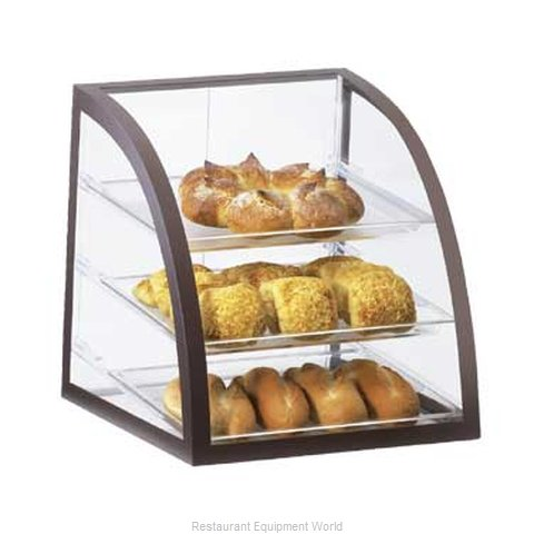 Cal-Mil Plastics P255-48 Display Case Pastry Countertop Clear