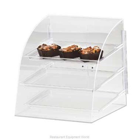 Cal-Mil Plastics P255 Display Case, Pastry, Countertop (Clear)