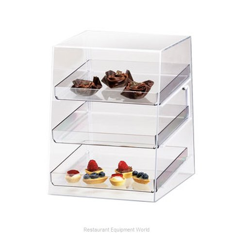Cal-Mil Plastics P257 Display Case, Pastry, Countertop (Clear)