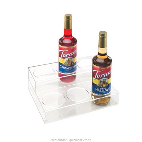 Cal-Mil Plastics P295 Liquor Bottle Display Countertop