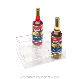 Cal-Mil Plastics P295 Liquor Bottle Display, Countertop