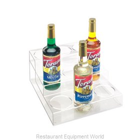 Cal-Mil Plastics P296 Liquor Bottle Display Countertop
